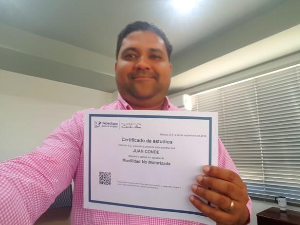 Certificado de estudios fundación Carlos Slim