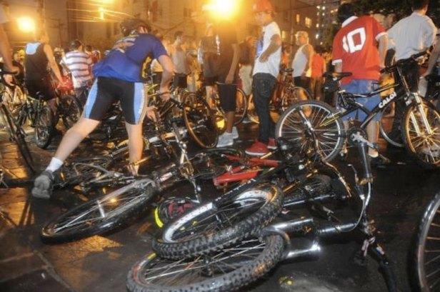 Accidente ciclistas