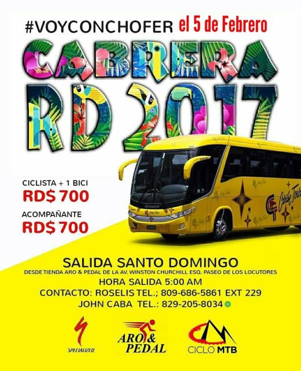 Paseo a Cabrera, República Dominicana 2017