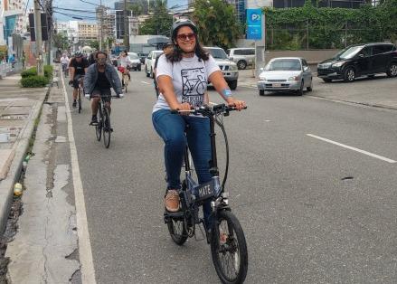 Bicicleta eléctrica en Santo domingo en Bici