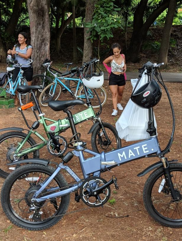 Bicicletas plegables o folding bike marca: Mate, en el bici picnic