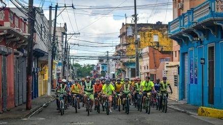 Ciclistas Santo Domingo